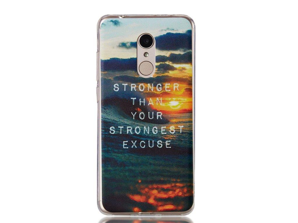 Silikónový kryt (obal) pre Huawei P9 Lite (2017) - oceán
