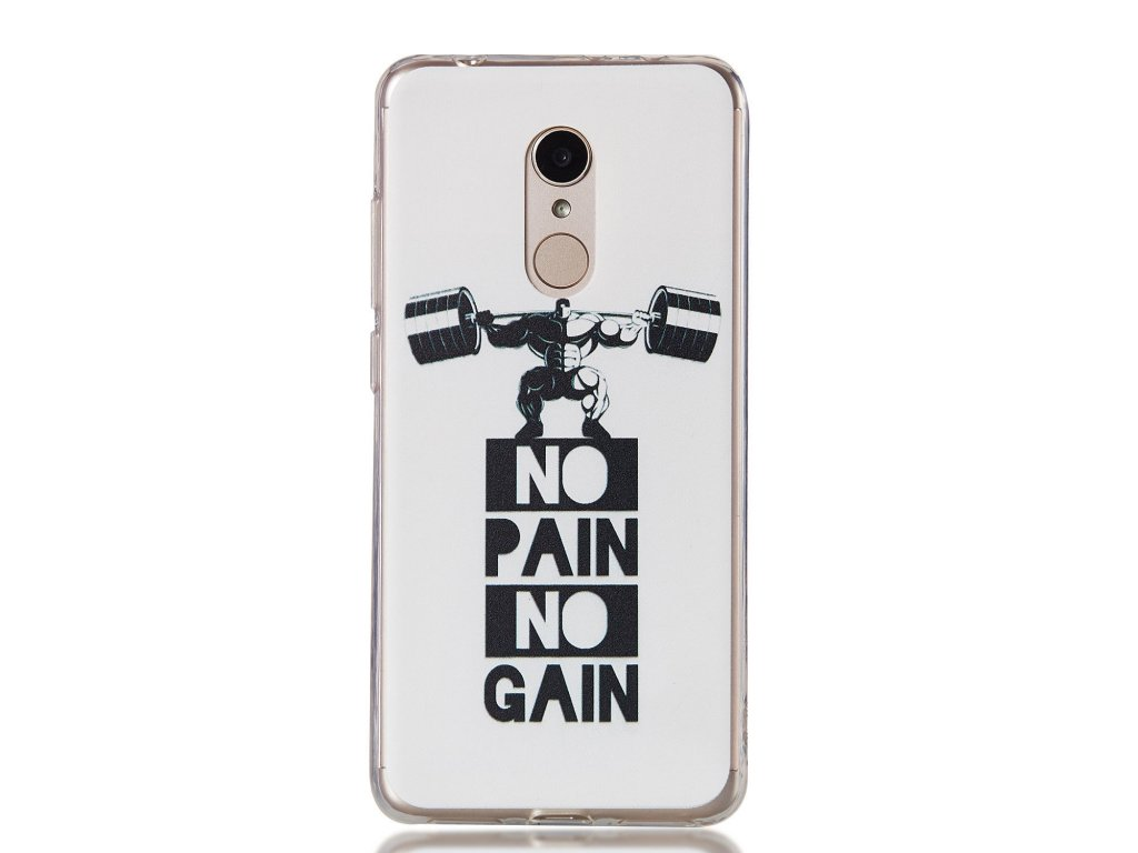 Silikónový kryt (obal) pre Huawei P9 Lite (2017) - no pain no gain