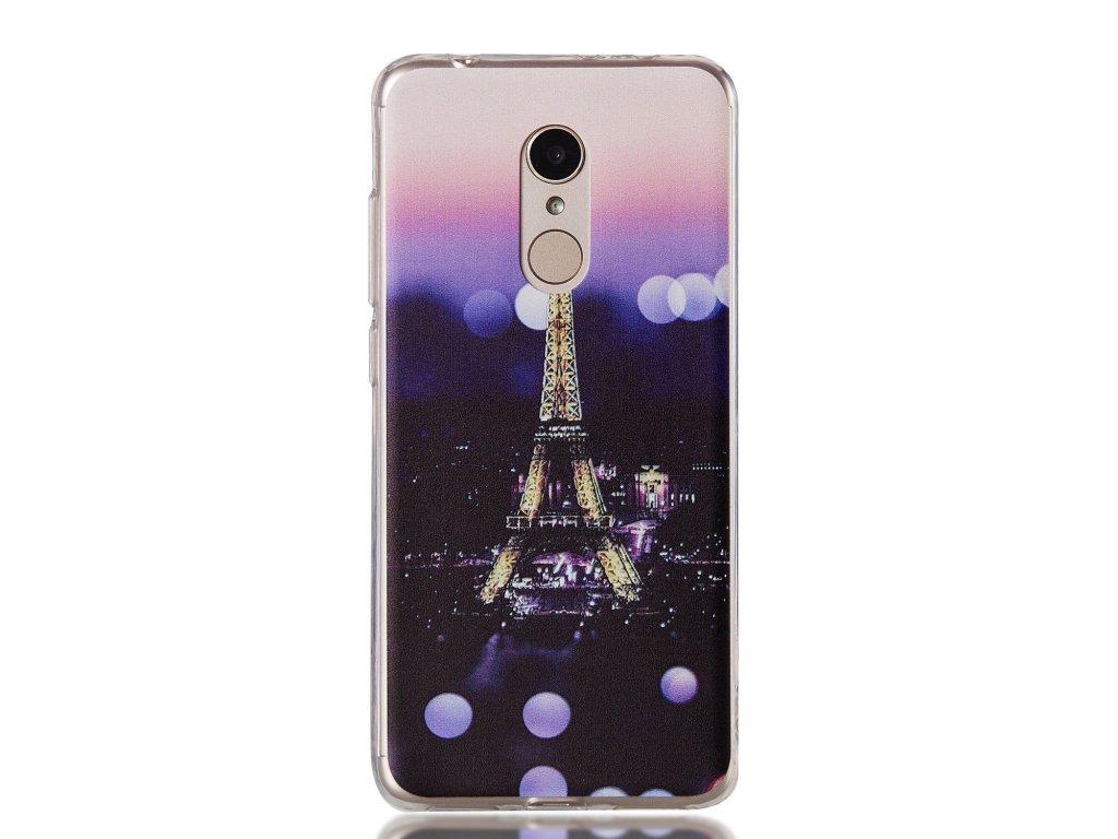Silikónový kryt (obal) pre Huawei P9 Lite (2017) - paríž