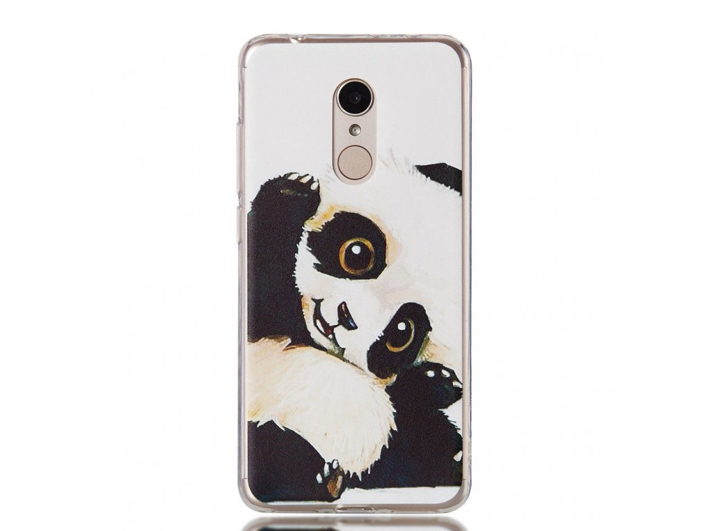 Silikónový kryt (obal) pre Huawei P20 - panda