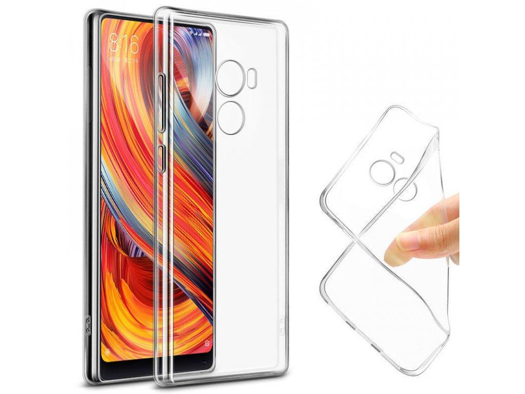 Silikónový kryt (obal) pre Huawei P20 - priesvitný (clear)