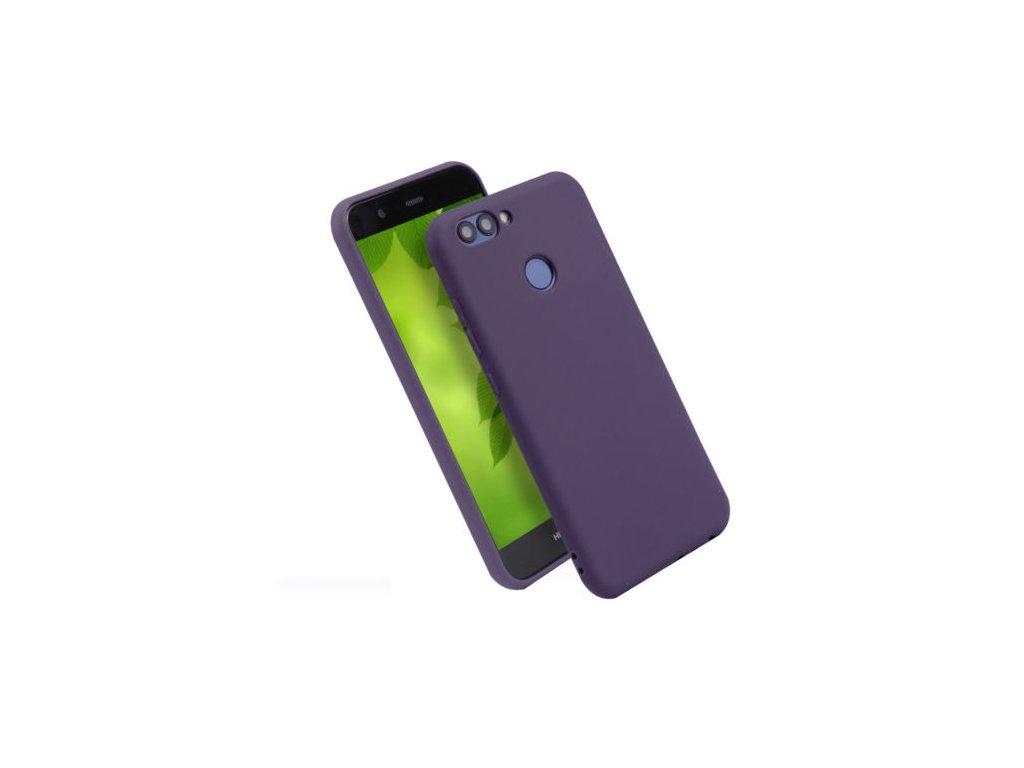 Silikónový kryt na Huawei P Smart tmavomodrý