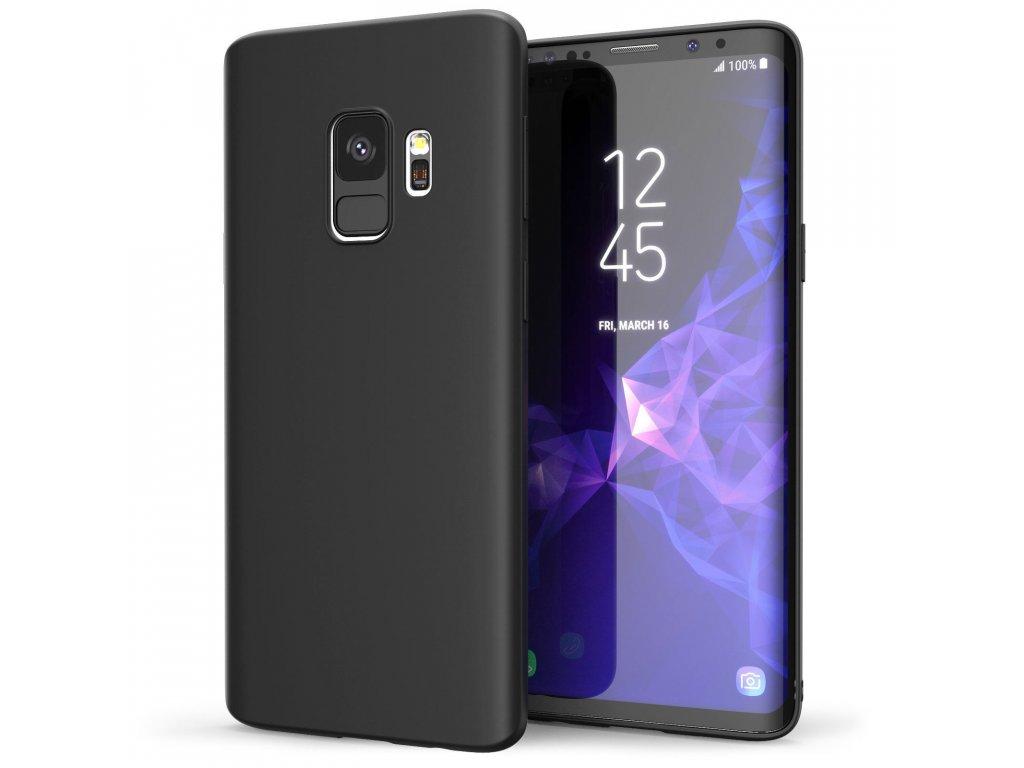 Silikónový kryt (obal) pre Samsung Galaxy S9 - black (čierny)