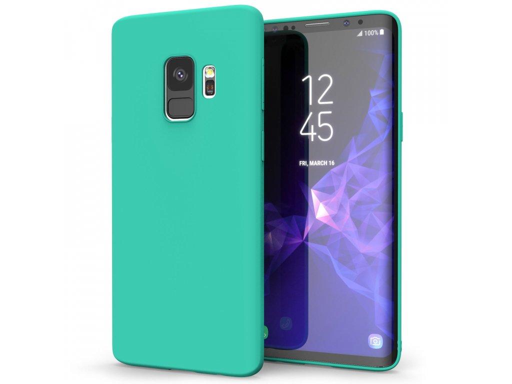 Silikónový kryt (obal) pre Samsung Galaxy S9 - light blue (sv. modrý)