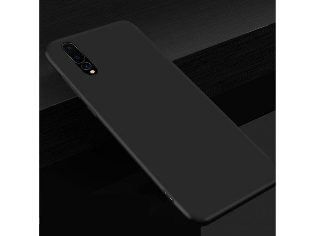 Silikónový kryt (obal) pre Huawei P20 - black (čierny)