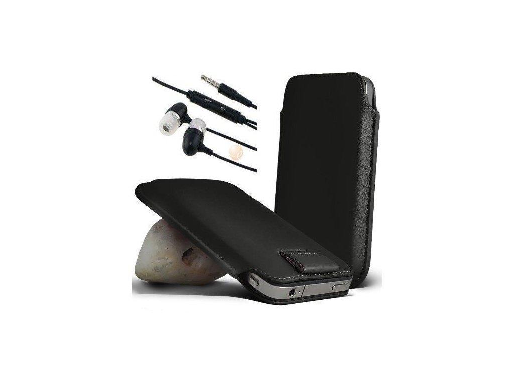 Čierne puzdro pre Samsung Galaxy S3 (i9300)