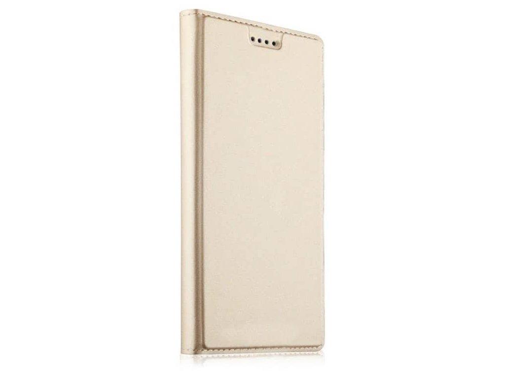Flip Case (puzdro) pre Huawei P20 - zlaté - s magnetickým dovieraním