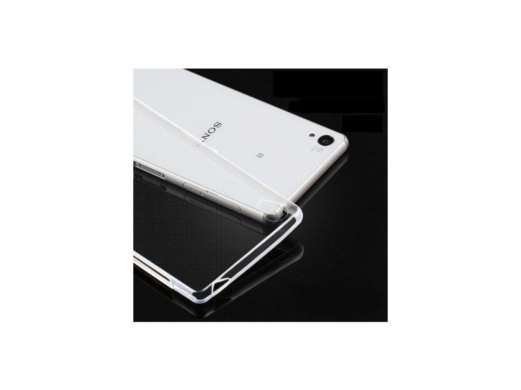 Silikónový kryt (obal) pre Sony Xperia Z1 - priesvitný (clear)