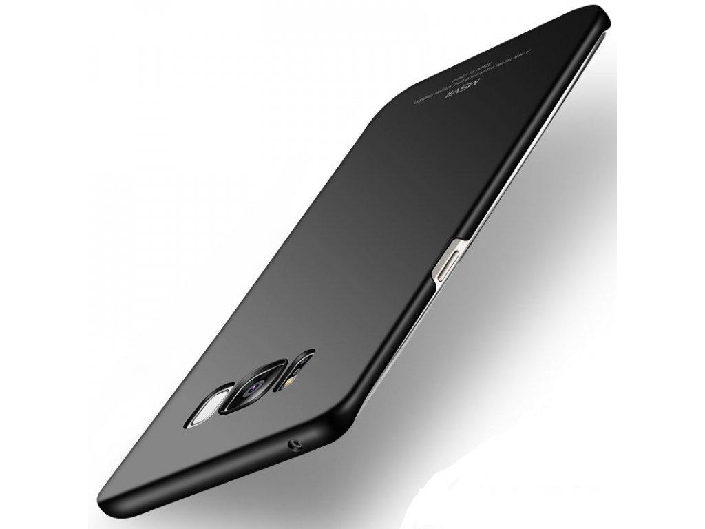 Plastový kryt MSVII pre Huawei P20 - simple black (čierny)