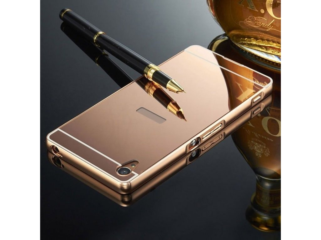 Hliníkový kryt na Huawei P Smart ružový