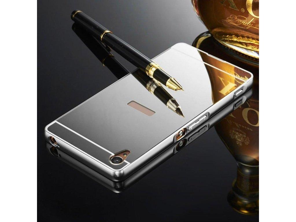 Hliníkový kryt na Huawei P Smart strieborný