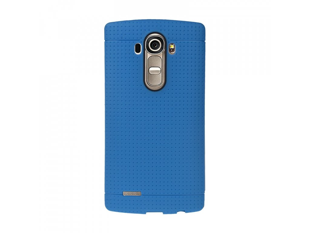 Gumený kryt (obal) pre LG G4 - blue (modrý)