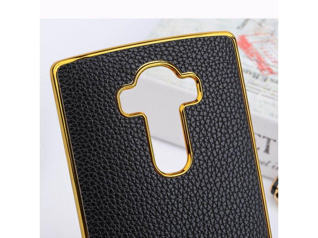 ... Plastový kryt (obal) pre LG G3 - black + gold (čierny + zlatý ... 53a1fdd9972