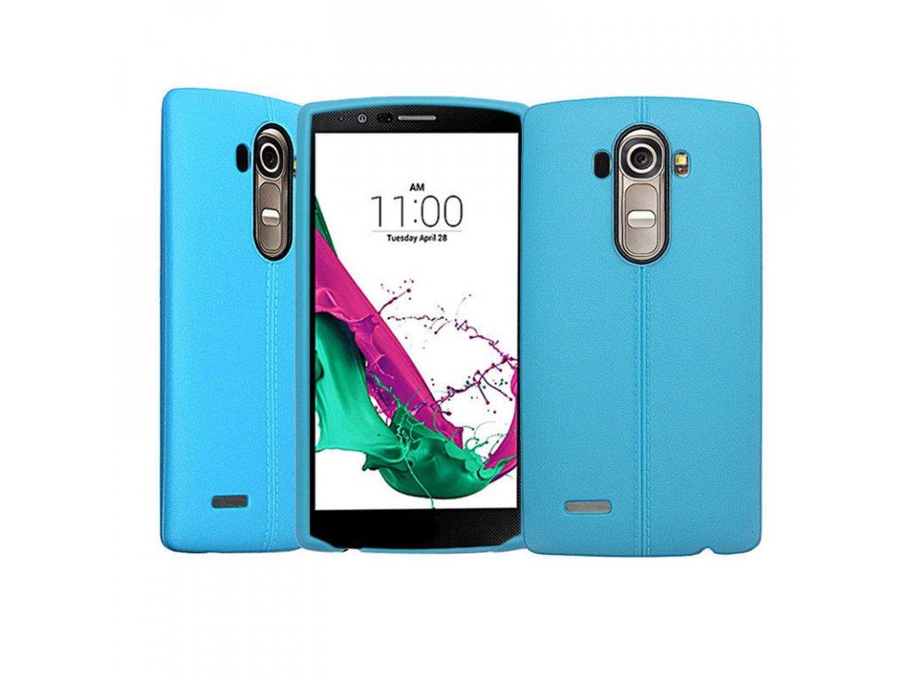 Gumený kryt (obal) pre LG G4 - light blue (sv. modrý)