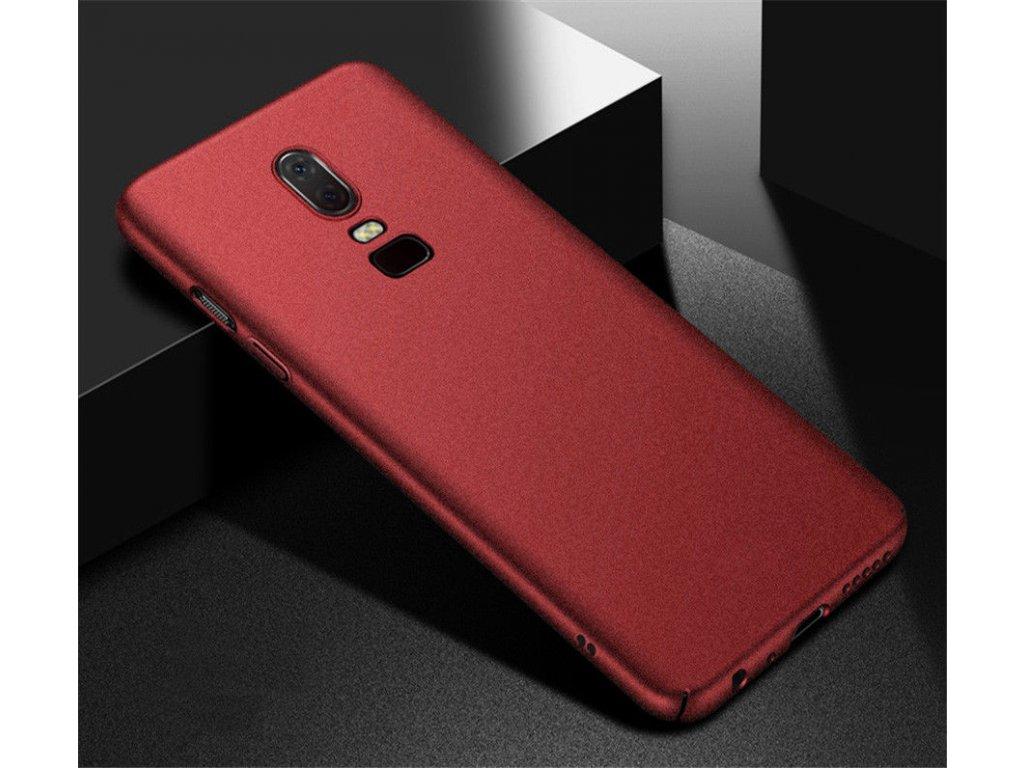 Plastový obal na Huawei P Smart / Honor 9 lite bordový
