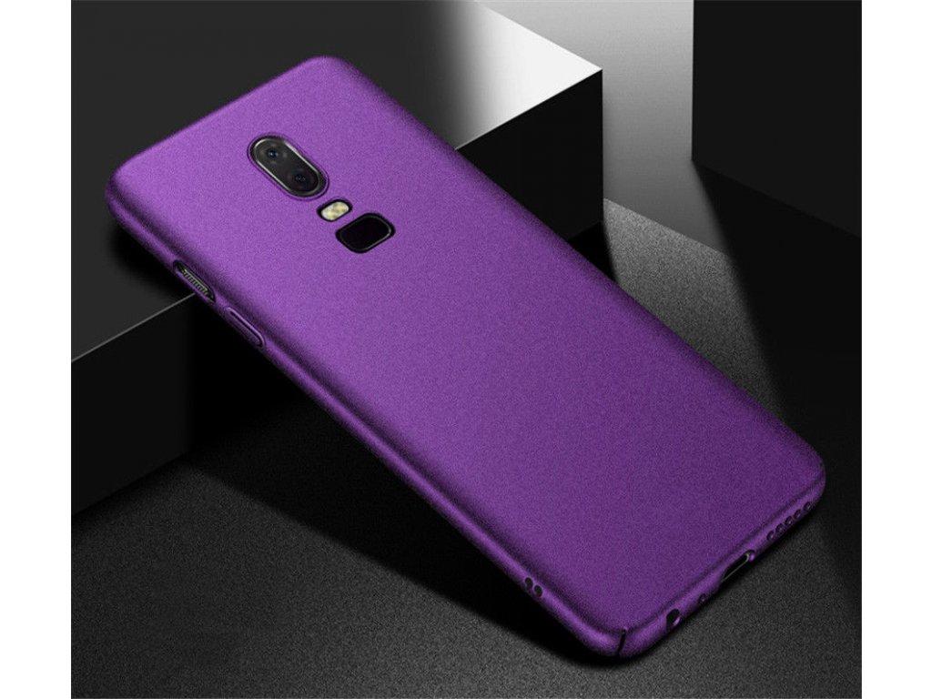 Plastový obal na Huawei P Smart - fialový