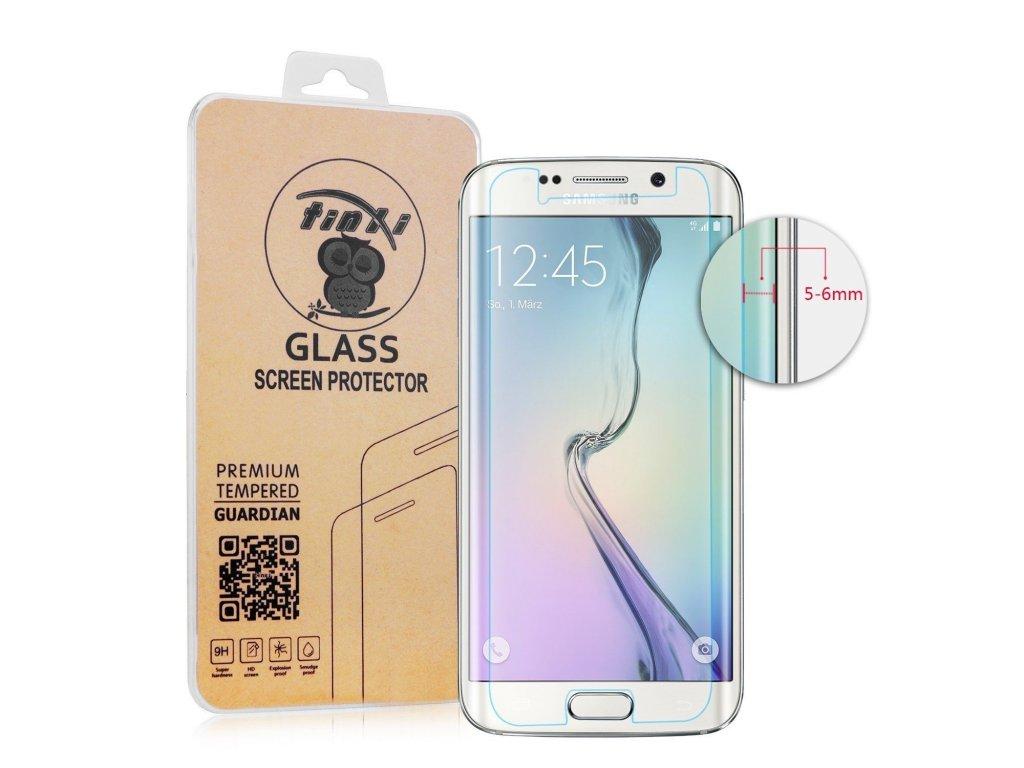 Tvrdené sklo pre Samsung Galaxy S6 Edge - nezaoblené