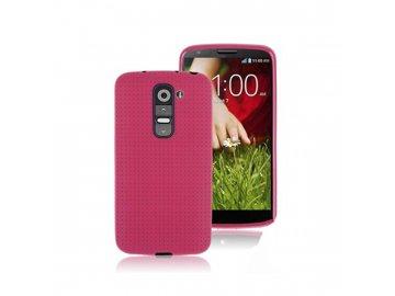 Gumený kryt (obal) pre LG G2 mini - pink (ružový)