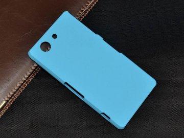 Plastový kryt (obal) pre Sony Xperia M4 aqua - light blue (sv. modrý)