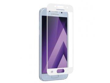 Tvrdené sklo pre Samsung Galaxy A3 2017 (A320F) - biele