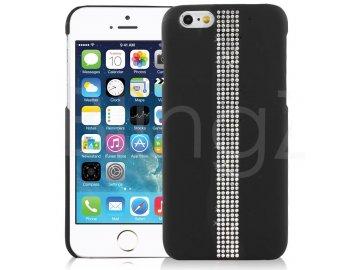Kamienkový kryt (obal) pre iPhone 6/6S - black (čierny)