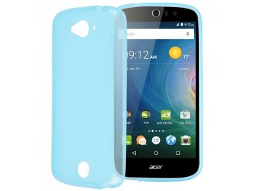 Silikónový kryt (obal) pre Acer Liquid Z530 - blue (modrý)