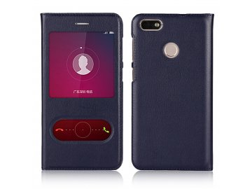 Flip Case (puzdro) pre Huawei P smart 2019/Honor 10 Lite - modré (blue)
