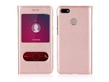 Flip Case (puzdro) pre Honor 8X - rose gold
