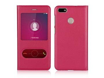 Flip Case (puzdro) pre Honor 8X - rose (ružové)