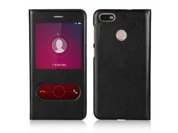 Flip Case (puzdro) pre Honor 8X - čierne (black)