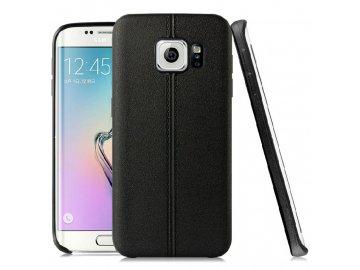 Silikónový kryt (obal) pre Samsung Galaxy S7 Edge - čierny (black)
