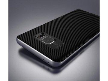 Gumový kryt (obal) pre Samsung Galaxy Note 7 - čierny s čiernymi okrajmi