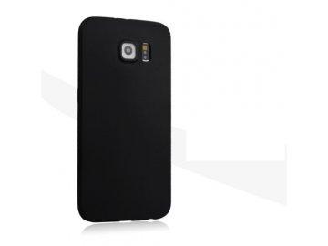 Silikónový kryt (obal) pre Samsung Galaxy S6 Edge Plus - čierny (black)