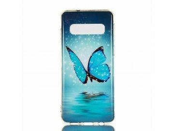 Silikónový kryt (obal) Luminous Butterfly