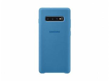 samsung silicone cover s10 plus blue
