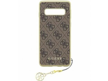 guess charms samsung galaxy s10 brown