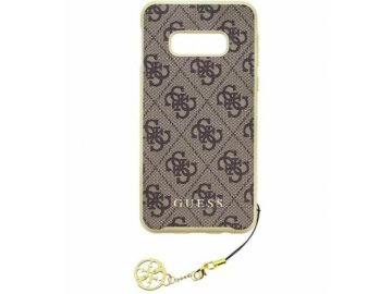 guess charms samsung galaxy s10e brown