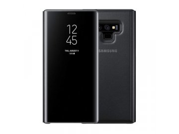 clear view standing cover samsung galaxy note 9 black