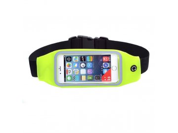 """Rebeltec Waist Active puzdro pre mobilné telefóny do veľkosti 5,5"""" na pás - žlté"""
