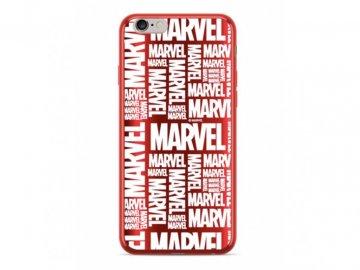 marvel silikónový kryt pre iphone 6:6s červený