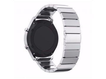 Handodo Buckle Magneticky Kovový Remienok pre Apple iWatch 1/2/3 - 42mm strieborný