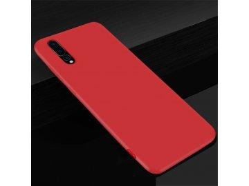 Silikónový kryt (obal) pre Huawei P20 - red (červený)