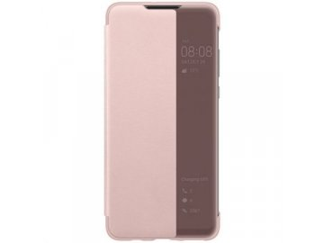 huawei p30 lite view cover pink