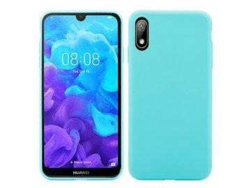 Silikónový kryt (obal) pre Huawei Nova 5 - light blue (sv. modrý)