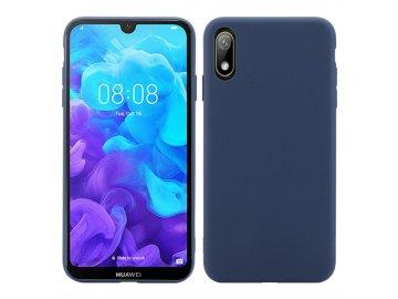 Silikónový kryt (obal) pre Huawei Nova 5 - dark blue (tm. modrý)