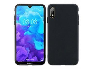 Silikónový kryt (obal) pre Huawei Nova 5 - black (čierny)