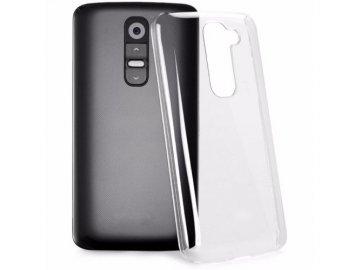Priesvitný silikónový kryt (obal) pre LG G2