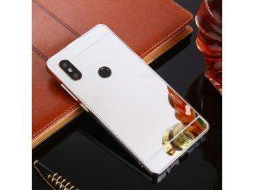 Hliníkový kryt (obal) pre Xiaomi Redmi Note 7/7 Pro - strieborný