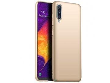 Plastový kryt (obal) pre Samsung Galaxy A40 - zlatý