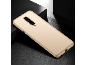 Plastový kryt (obal) pre OnePlus 7 - zlatý
